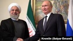 Ռուսաստանի և Իրանի նախագահների հանդիպումը Երևանում, 1-ը հոկտեմբերի, 2019թ․