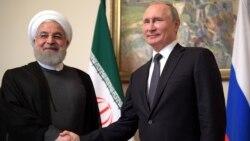 Երևանում հանդիպեցին Ռուսաստանի և Իրանի նախագահները