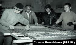 Киргизские мигранты в России