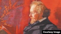 В. Холдсворт. Портрет Вяч.Иванова, 1905