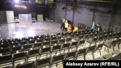 Зрительный зал театра АРТиШОК. Алматы, 18 октября 2017 года.