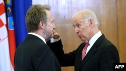 Bakir Izetbegović i Džo Bajden na samitu u Zagrebu