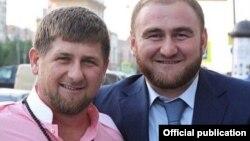 Глава Чечни Рамзан Кадыров и сенатор Рауф Арашуков