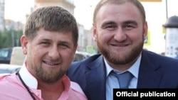 Рамзан Кадыров и Рауф Арашуков