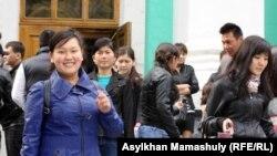 Алматинские студенты. Иллюстративное фото.