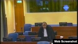 Advokat Miodrag Stojanovic na suđenju Ratku Mladiću