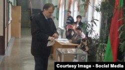 Evgheni Șevciuk la vot