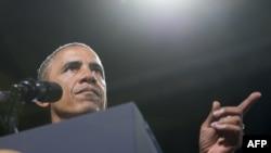Президент США Барак Обама. Вирджиния, 7 августа 2014 года.