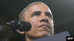 АҚШ президенті Барак Обама. Вирджиния, 7 тамыз 2014 жыл.