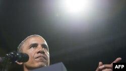 Президент США Барак Обама. Штат Вирджиния, 7 августа 2014 года.