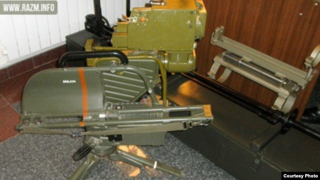 Armenian - A MILAN anti-tank missile system purportedly modernized by an Armenian company.