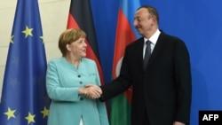 Angela Merkel | İlham Əliyev