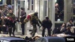 Операција за ослободување на заложниците од театарот Дубровка на 26 октомври 202 година.