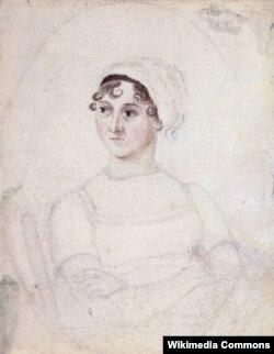 Ceyn Ostinin portreti. Müəllif Kassandra Ostin, 1810