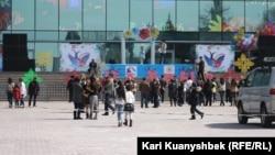 Республика алаңында өткен концерт. Алматы. 24 наурыз. 2012 жыл.