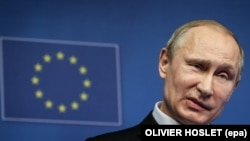 A small number of EU diplomats are reportedly keen to open direct discussions with the Moscow-led Eurasian Economic Union in the hope that it could keep open the possibility of future cooperation with Vladimir Putin's Russia.