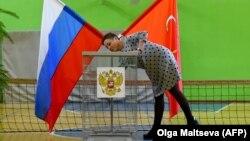 На дільниці напередодні місцевих виборів у Санкт-Петербурзі, 7 вересня 2019 року