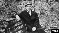 Борис Пастернак в Переделкине, 1958 год