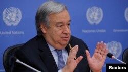 Sekretari i Përgjithshëm i Kombeve të Bashkuara, Antonio Guterres