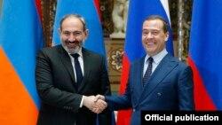 Հայաստանի և Ռուսաստանի վարչապետների հանդիպումը Մոսկվայում, 25-ը հունվարի, 2019թ․