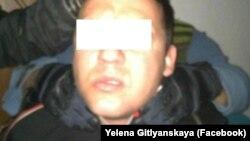 Один із підозрюваних у теракті на Херсонщині (фото СБУ)