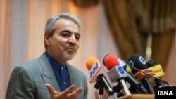 محمد باقر نوبخت رئيس سازمان مديريت و برنامه ريزی و سخنگوی دولت ايران
