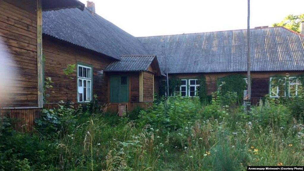Так выглядае цяпер будынак былой Берштаўскай школы