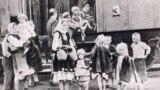 Беженцы на границе Греции, 1948 год