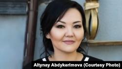 Алтынай Абдыкеримова.