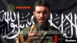 Foto nga një video e Mokhtar Belmokhtar-it