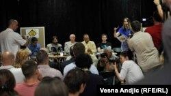"""Konferencija """"Nema cenzure? Dobro, šta se onda dešava"""" u Domu omladine u Beogradu"""