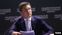 Russian Energy Minister Aleksandr Novak revived talk of an oil output freeze amid slumping prices.