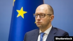 Ukrainian Prime Minister Arseniy Yatsenyuk (file photo)