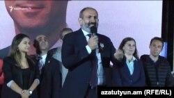 Վարչապետ Նիկոլ Փաշինյանը ելույթ է ունենում Արաբկիրում «Իմ քայլը» դաշինքի հանրահավաքին, Երևան, 20-ը սեպտեմբերի, 2018թ․