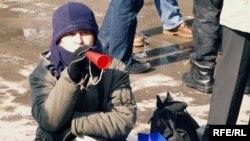 Sa jednog od radničkih protesta u Tuzli, februara ove godine, Foto: Maja Nikolić