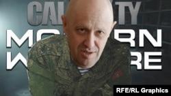 """Евгений Пригожин """"в роли"""" полковника Баркова, коллаж"""