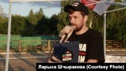 Dzmitry Ivashkou is one of the four associates of Svyatlana Tsikhanouskaya who is on trial.