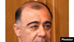 Armenia -- Deputy parliament speaker Samvel Balasanian.