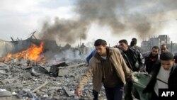 شمار کشته شدگان حملات هوایی اسرائیل به غزه افزایش یافت. (عکس از: AFP )