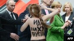 У Європі протестувати проти Путіна легше, Ганновер, Німеччина, 8 квітня 2013 року