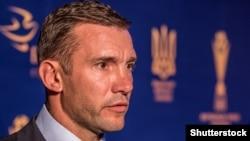 UKRAINE – Head coach of the national football Головний тренер збірної України Андрій Шевченко