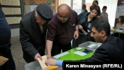Голосование в ходе парламентских выборов в Армении, 6 мая 2012 г.