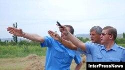 Российские эксперты в Цителубани. Идет исследование воздушного пространства Грузии