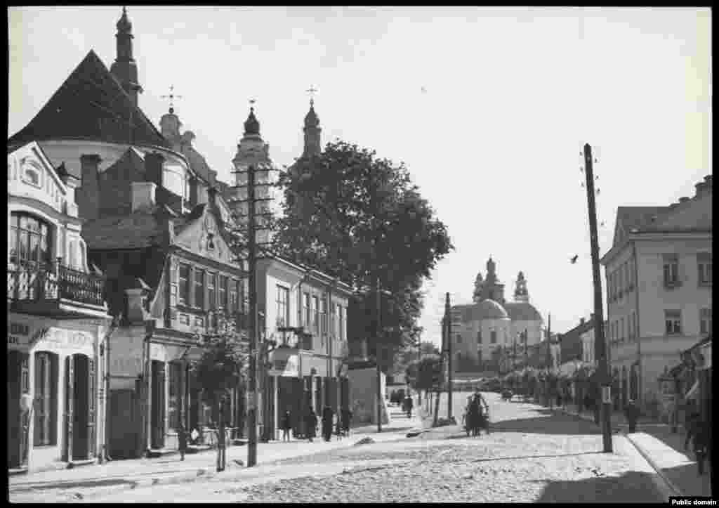 Былая вуліца Касьцюшкі