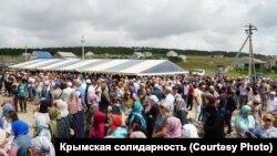 Похороны Мусы Сулейманова в Крыму