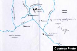 З книги Бориса Яроцького «Следы князя Игоря ведут на Кременщину»