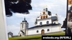 Гэтак выглядае Пакроўская царква напраекце Таварыства аховы помнікаў гісторыі ікультуры