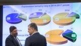 Президент України Петро Порошенко під час наради на підприємстві «Укртрансгаз» у зв'язку зі спробою Росії і РАО «Газпром» зірвати виконання контракту на постачання газу. Київ, 3 березня 2018 року
