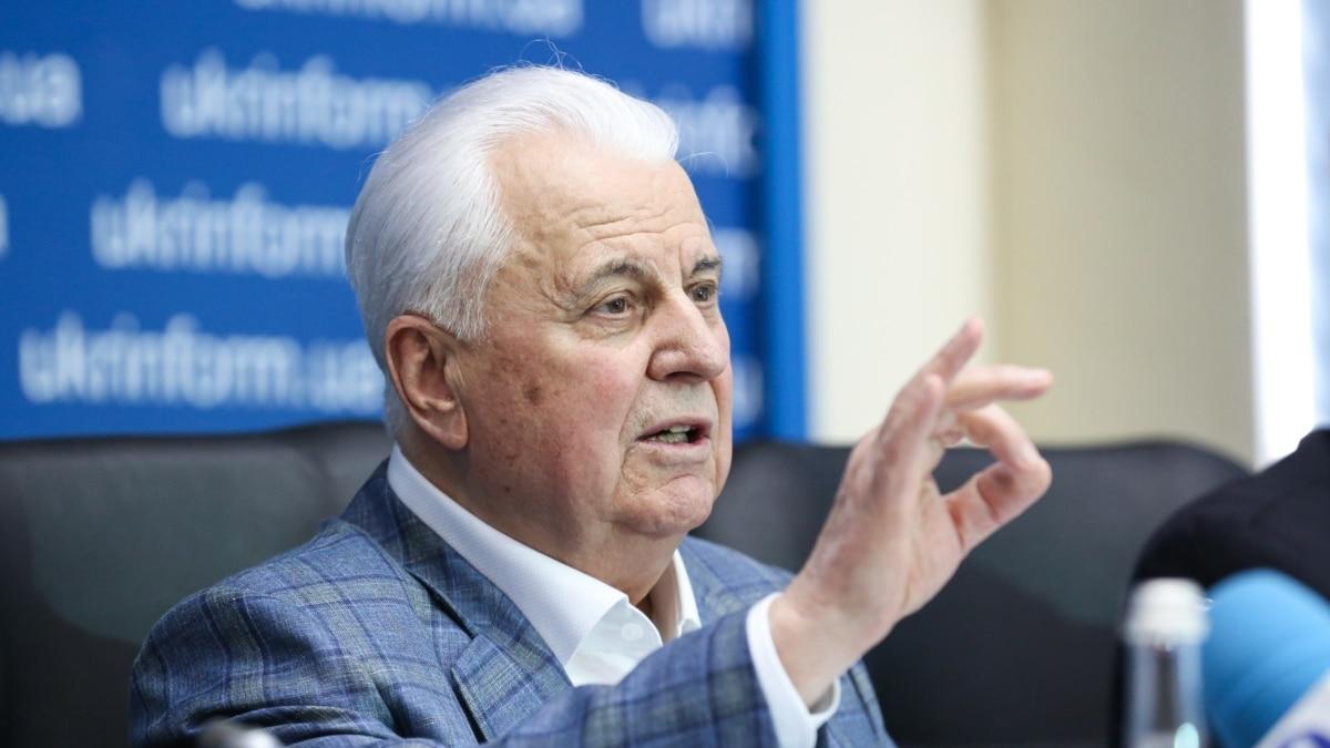 Кравчук говорит, что хотел бы в перспективе вступления США в процесс установления мира на Донбассе