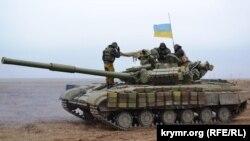 День збройних сил на кордоні з Кримом